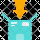 Packing Box Arrow Icon