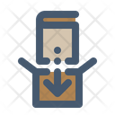 Packing Book Library Service Icon