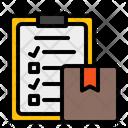 Packing List List Checklist Icon