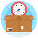 Parcel Schedule Packing Time Packing Schedule Icon