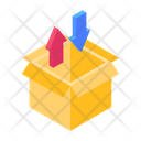 Packaging Packing Unpacking Parcel Loading Icon