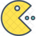 Pacman Character Game Icon