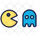 Pacman And Ghost Pacman Game Icon