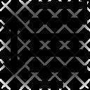 Padding spaces Icon