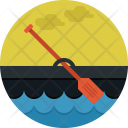 Paddle Sports Water Icon