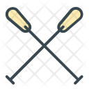 Paddle Oars Icon