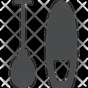 Paddle Paddleboard Paddleboarding Game Icon