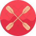Paddle Water Sports Canoeing Icon