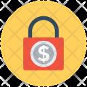 Padlock Dollar Sign Icon