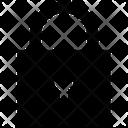 Locked Padlock Security Icon