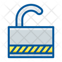 Padlock Protection Unlock Icon