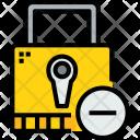 Padlock Remove Secure Icon