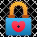 Padlock Security Love Icon