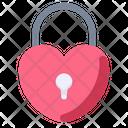 Padlock Love Lock Icon