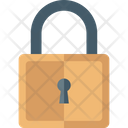 Padlock Restricted Access Safety Lock Icon