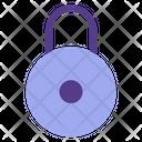 Close Padlock Locked Icon