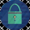 Cryptocurrency Padlock Lock Icon