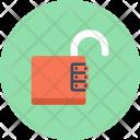 Padlock Unlock Access Icon