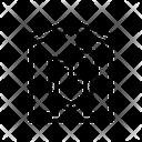 Building Padlock Security Icon