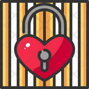 Cage Heart Love Icon