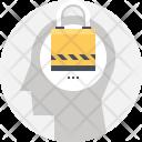 Padlock Lock Mind Icon