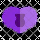 Padlock Love Valentine Icon