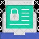 Padlock Laptop Lock Browser Lock Icon