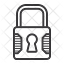 Padlock Key Safe Icon