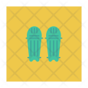 Pads Cricket Safety Icon