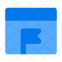 Page Flag Website Icon