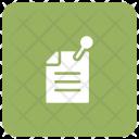 Page Pin Attach Icon
