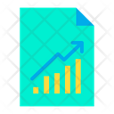 Increase Budiness Paper Growth Page Business Growth Icon