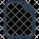 New Empty Clean Icon