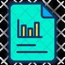 Analytics Analysis File Icon