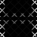 Page Break Document Icon