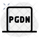 Page Down Icon