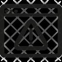 Page, Error Icon
