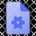 Page Gear Icon