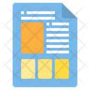 Page Layout Paper Document Icon