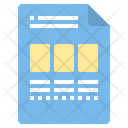 Blog Article File Icon