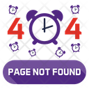 Page Not Found Set 404 Website Icon