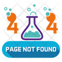 Page Not Found Set 404 Error Icon