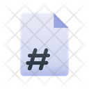 Page Number Icon