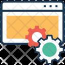 Page Optimization Cog Icon