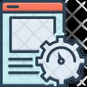 Page Optimization Page Optimization Icon