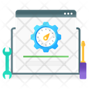 Speed Optimization Web Performance Web Productivity Icon