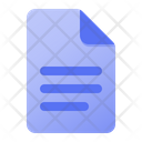 Page Paragraph Icon