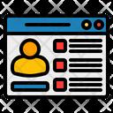 Page Profile Page Profile Icon