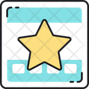 Rating Star Feedback Icon
