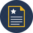 Page Quality Quality Rank Sheet Icon
